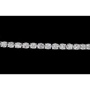 Tennis Bracelet Diamond 8 Carats Prong Set Women W